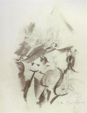 Willem de Kooning-Untitled (Two Women)-1962