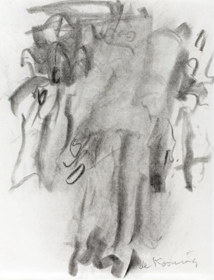 Willem de Kooning-Untitled (Two Women)-1965