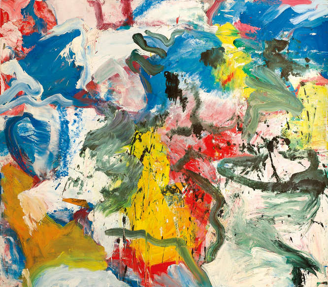 Willem de Kooning-Untitled V-1975
