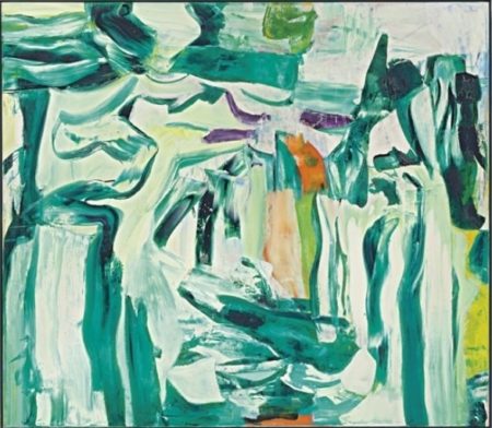 Willem de Kooning-Untitled V-1980