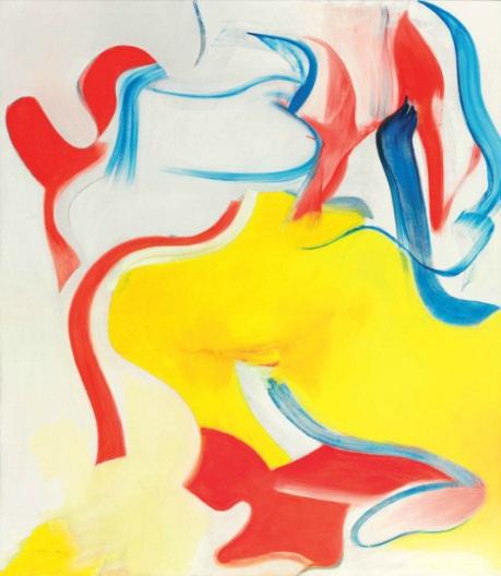 Willem de Kooning-Untitled V-1983