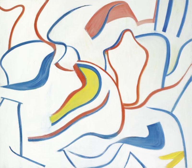 Willem de Kooning-Untitled VI-1985