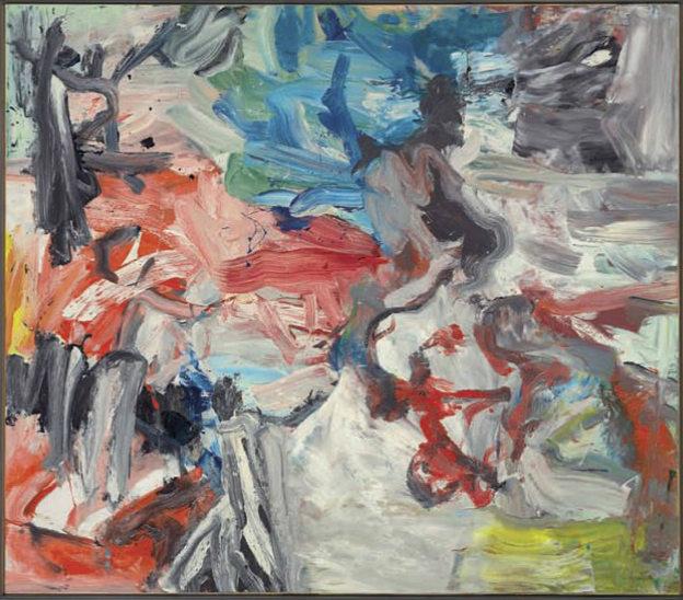 Willem de Kooning-Untitled VIII-1977
