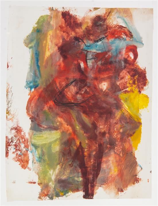 Willem de Kooning-Untitled (Woman)-