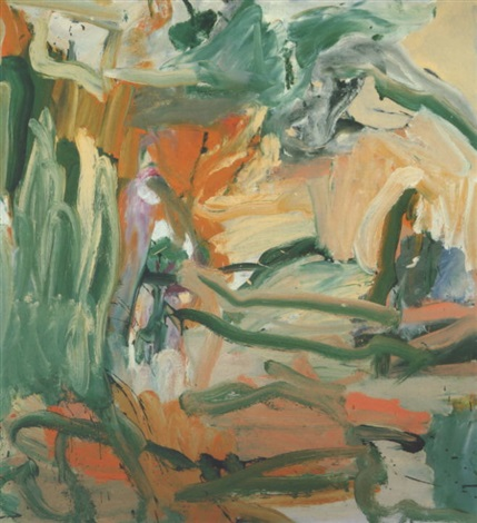 Willem de Kooning-Untitled X-1977