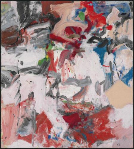Willem de Kooning-Untitled XI-1976