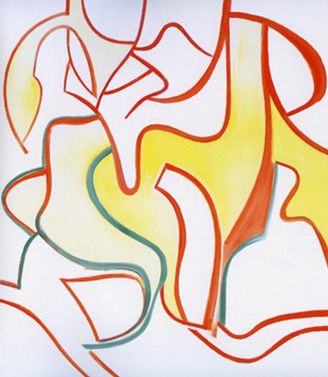 Willem de Kooning-Untitled XII-1985