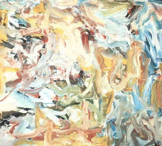 Willem de Kooning-Untitled XIII-1977