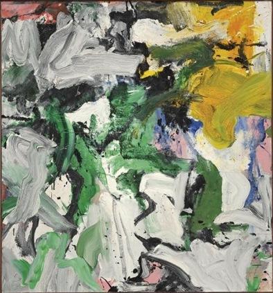 Willem de Kooning-Untitled XV-1977