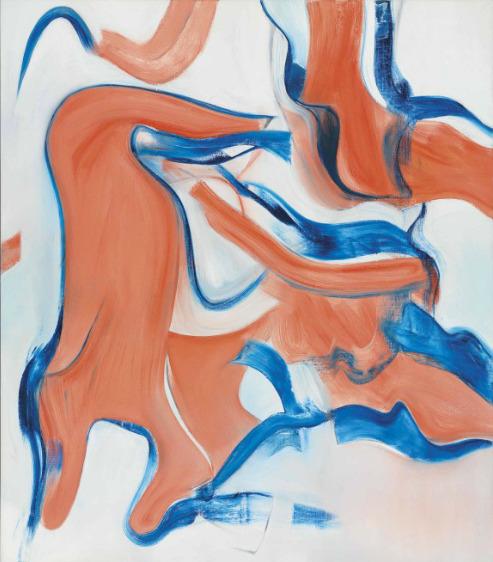 Willem de Kooning-Untitled XVIII-1982
