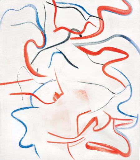 Willem de Kooning-Untitled XVIII-1984