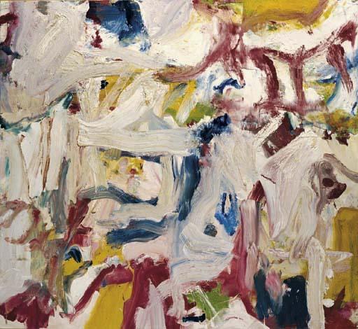 Willem de Kooning-Untitled XXIX-1977