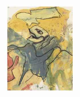 Willem de Kooning-Untitled-1960