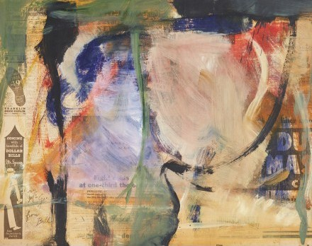 Willem de Kooning-Untitled, for Tiny McGee-1965