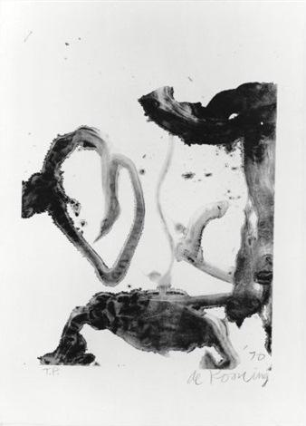 Willem de Kooning-Valentine-1970