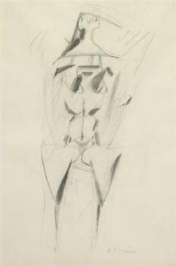 Willem de Kooning-Woman-1947