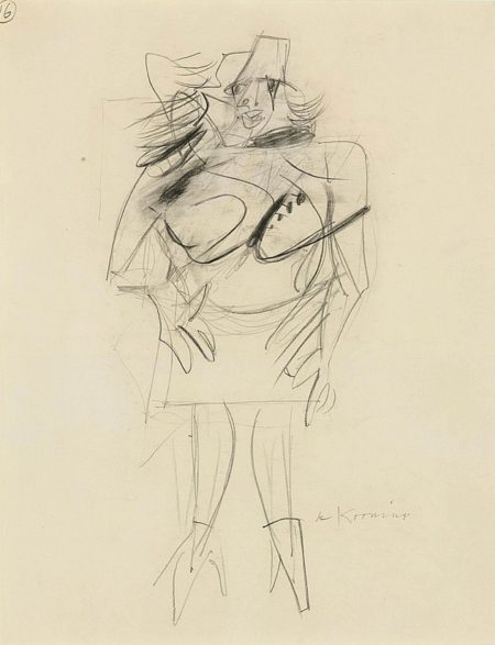 Willem de Kooning-Woman-1951