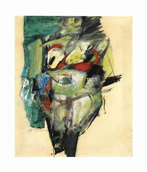 Willem de Kooning-Woman-1952