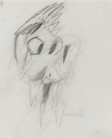 Willem de Kooning-Woman-1955