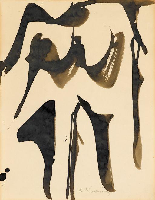 Willem de Kooning-Woman-1960