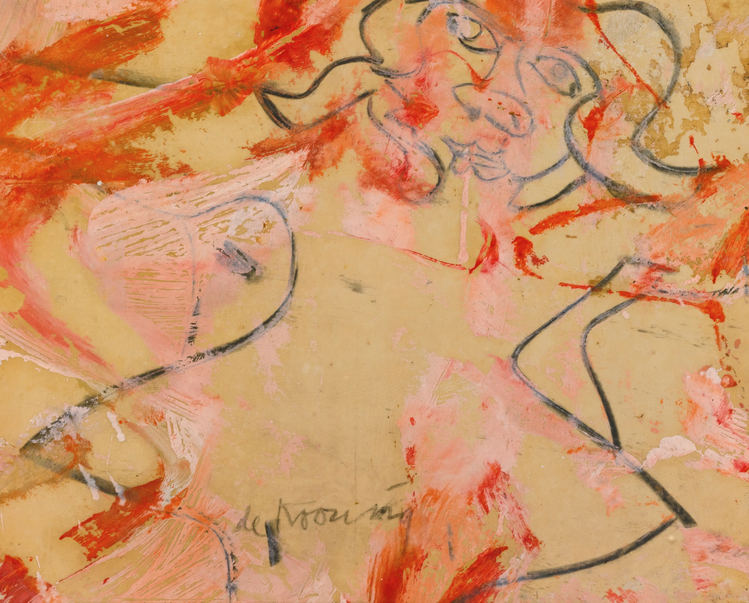 Willem de Kooning-Woman-1964