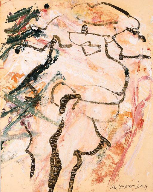 Willem de Kooning-Woman-1974