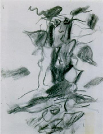 Willem de Kooning-Woman-1975