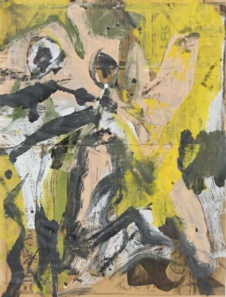 Willem de Kooning-Woman-1976