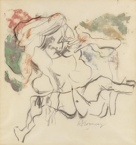 Willem de Kooning-Woman (Spread Legs)-1964