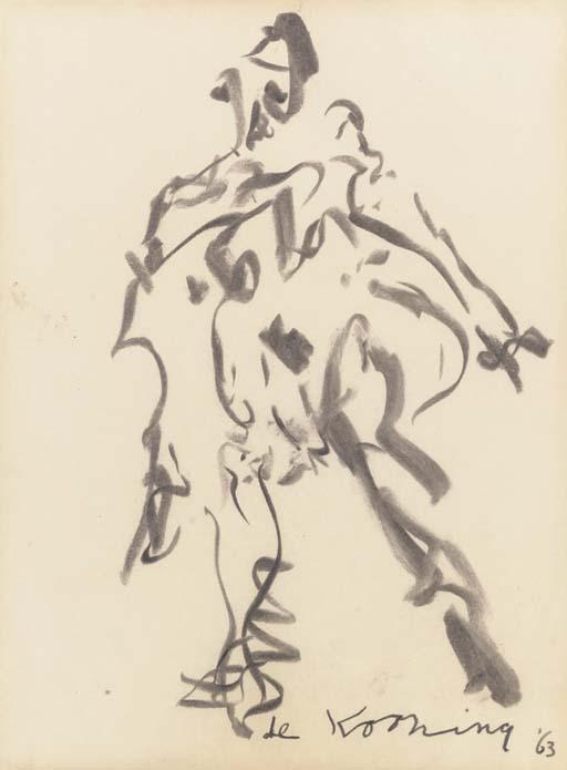 Willem de Kooning-Woman (Standing)-1963