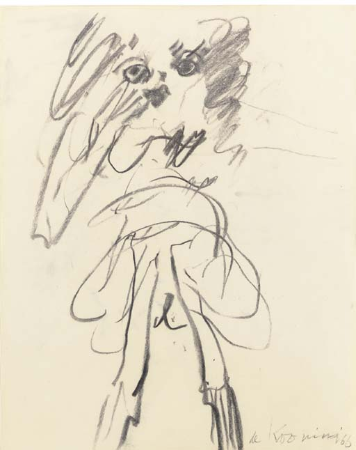 Willem de Kooning-Woman (Standing)-1966