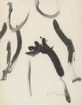 Willem de Kooning-Woman Study-1962