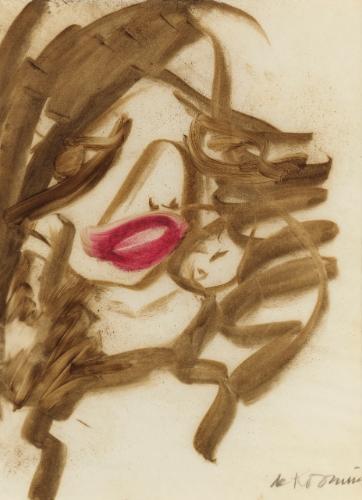 Willem de Kooning-Woman Study-1963