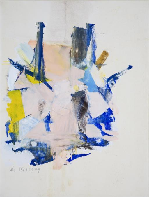 Willem de Kooning-Woman V-1961