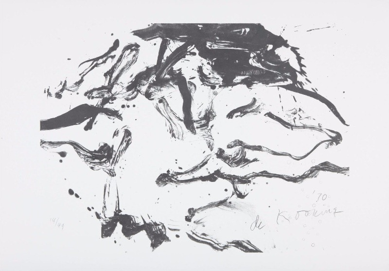 Willem de Kooning-Woman in Amagansett-1971