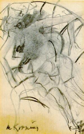 Willem de Kooning-Woman in Rowboat-1965