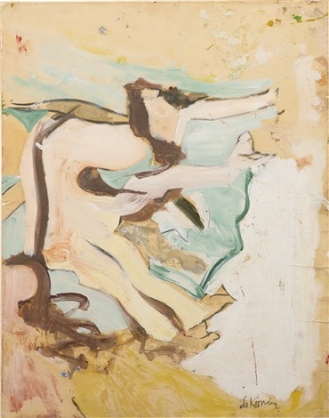 Willem de Kooning-Woman on the Beach-1962