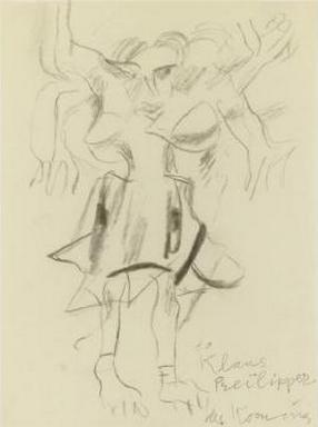 Willem de Kooning-Woman (to Klaus)-1979