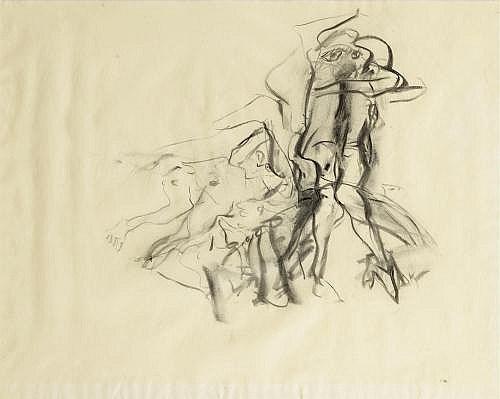 Willem de Kooning-Women-1968