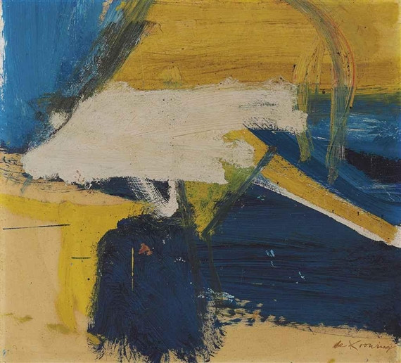 Willem de Kooning-Yellows & Blues-1959