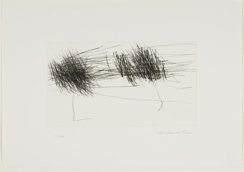 William Anastasi gallery work view exhibition