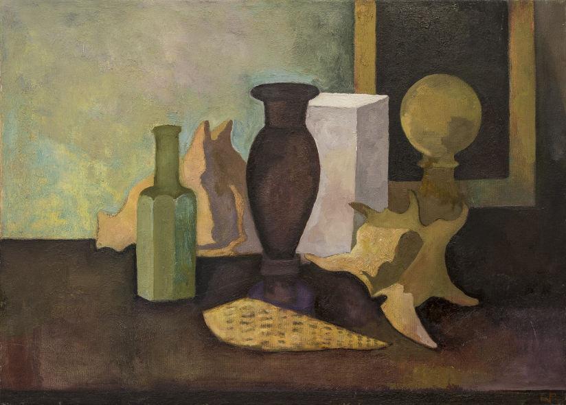 William Balthazar Rose - Purple Vase, 2016