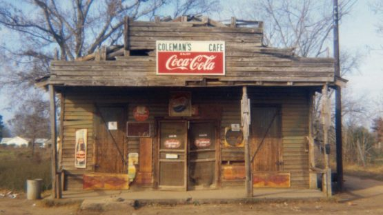 William Christenberry - Coleman's Cafe, Greensboro, Alabama, 1971 (detail)