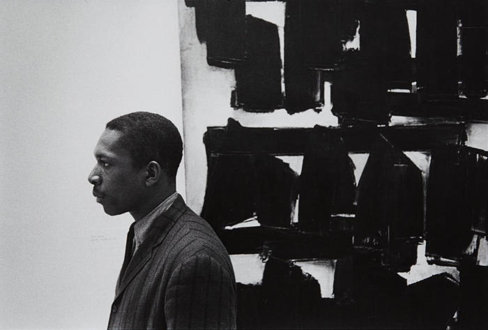 William Claxton-John Coltrane at the Guggenheim, New York City-1960