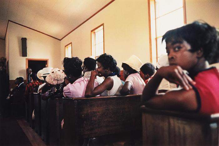 William Eggleston-Como, Mississippi (Black women in church)-1972