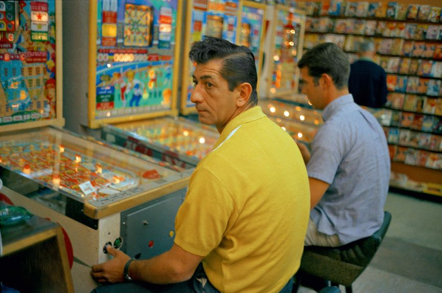 One of the photos from William Eggleston, one of the prints from Los Alamos Revisited,