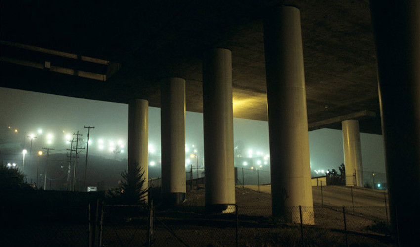 William Farley - Highway Columns & Lights, 2008 - detail