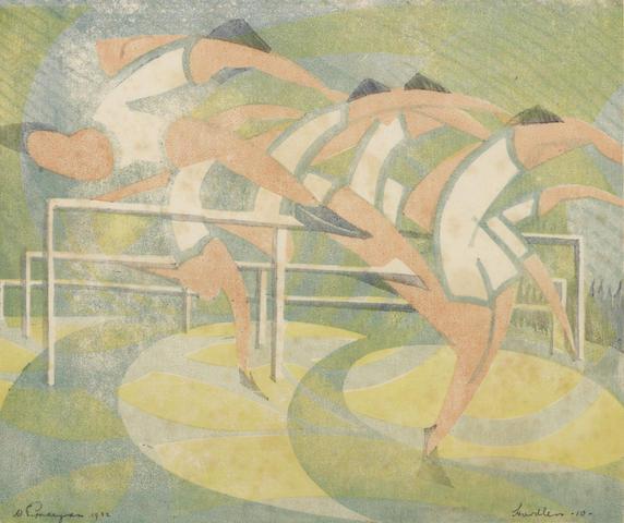 William Greengrass-Hurdlers-1932