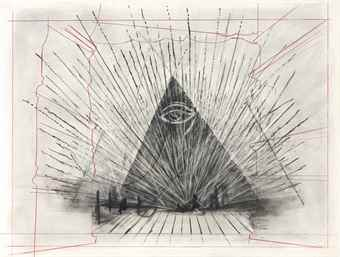 William Kentridge-Drawing from 'Preparing the Flute' (Queen of the Night)-2005