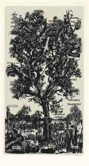 William Kentridge-Hope in the Green Leaves-2013